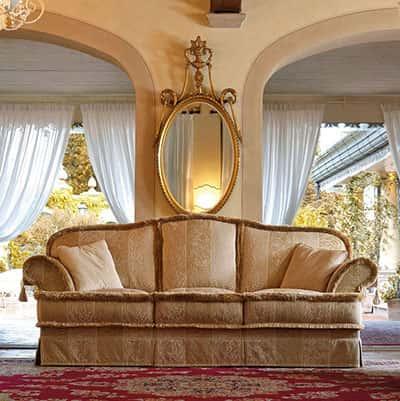 Divani tessuto sfoderabili idee per il design della casa for Divani classici in stile
